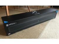 Used, Q Acoustics Media 4 soundbar with built in subwoofer - black for sale  Chester, Cheshire