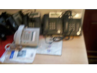 8 OFFICE TELEPHONE SYSTEMS *1 SYSTEM (MERIDION ) NEW * OTHERS ARE PANASONIC & DORIN