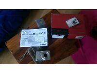 Silver Casio Exilim EX Z1200 digital camera