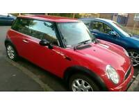 Mini One 2002 plate for sale. 11 months MOT. Bargain. £1100 ono.