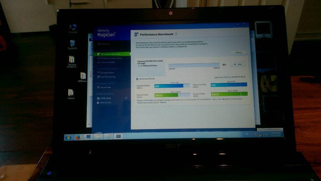 Laptop Acer 5750 I5 ssd