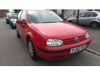 VOLKSWAGEN GOLF 1.4 RED LONG MOT