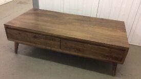 Mango Hardwood Coffee Table, New & Unused.