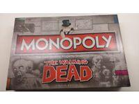 Monopoly walking dead edition!