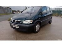 Vaxhaul Zafira Automatic 7 seater with short MOT and 6 months Tax