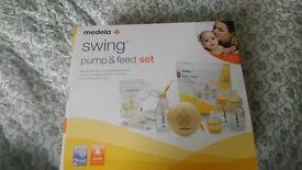 medela swing breast electric pump
