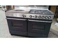 +++'paul bocuse' Rosieres dual fuel range cooker 120cm+++