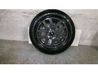 ALLOYS X 4 OF 18 INCH GENUINE DISCOVERY/COMMERCIAL/FULLY POWDERCOATED IN A STUNNING ANTHRACITE NICE