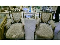 Good pair antique chairs for restoring