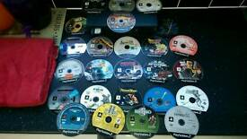 Ps2 with 24 games & xbox with 4 games