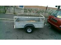 Car trailer camping/quad trailer