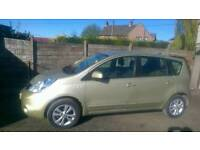 2009 Nissan Note 1.4 long m.o.t.