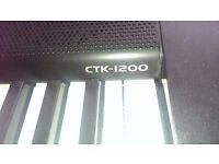 Electric Keyboard Piano Casio CTK-1200