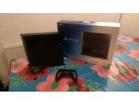 PS4 500GB Console plus Controller and Vertical Stand Mint Condition Fully Boxed
