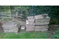 FREE concrete paving slabs approx 10 sqm