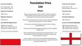 Private Translation Services Polish-English