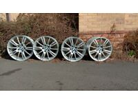 Genuine BMW Alloy Wheels for 3 Series 325i M Sport Convertible
