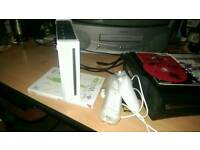 Wii console,red steel,trauma centre,balance board