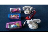 Home landline phones, fun and classic designs