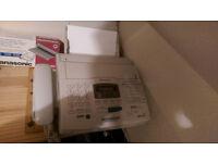 Panasonic fax/ansafone