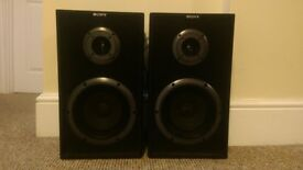 Pair of Sony SS-A301 Speakers