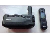 Sony a7r II, a7 II, a7s II battery grip (Meike Brand)