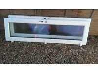 2 x Double glazed door panels