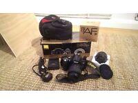 £120 OBO - Nikon D D40Digital SLR - Black (Kit w/ 18-55 mm Lens) + BONUS 50mm f/1.4 D LENS