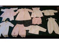 New designer baby girl clothes bundle