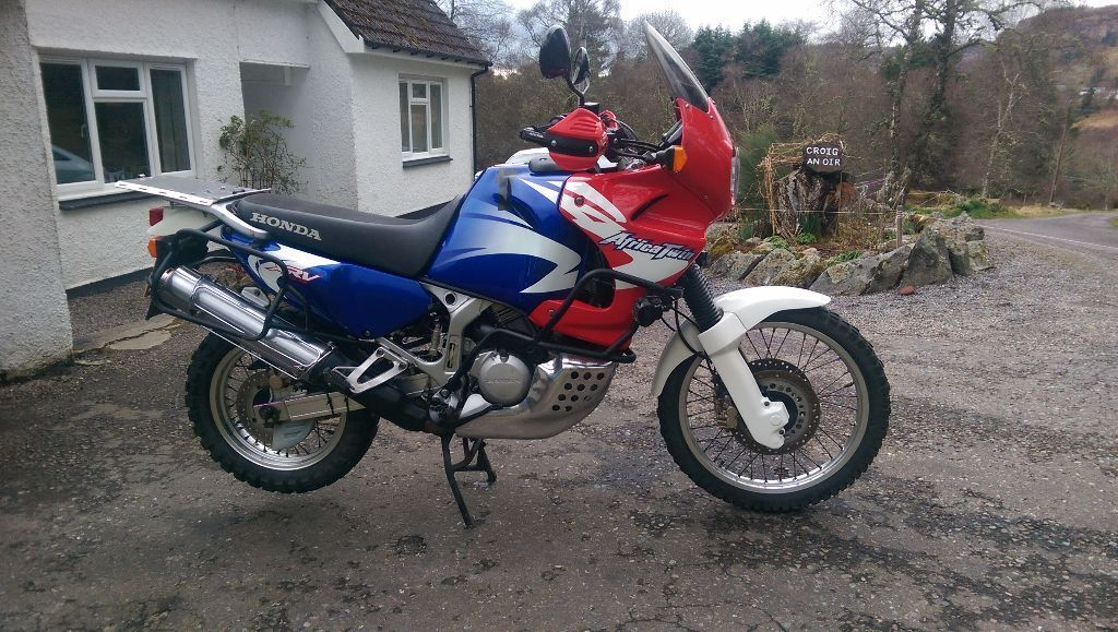 honda xrv750 africa twin 2002 for sale in inverness highland gumtree. Black Bedroom Furniture Sets. Home Design Ideas