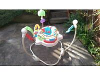 Baby safari jumperoo