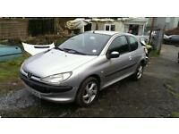 Peugeot 206 1.1 car breaking