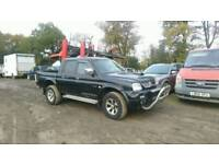 Mitsubishi l200 warrior double cabin parts only