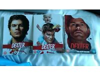 Dexter Box Sets; Seasons 3, 4 , and 5 £9 pounds for all 3 Seasons