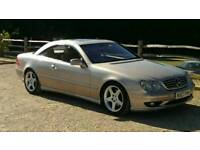 VERY RARE MERCEDES CL500 WITH AMG BODYKIT AND GOLD METALLIC