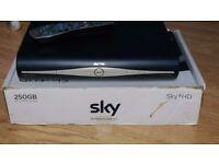 Sky hd record box