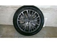 ALLOYS X 4 OF GENUINE 20 INCH RANGEROVER/WESTMINSTER/AUTOBIOGRAPHY FULLY POWDERCOATED IN ANTHRACITE