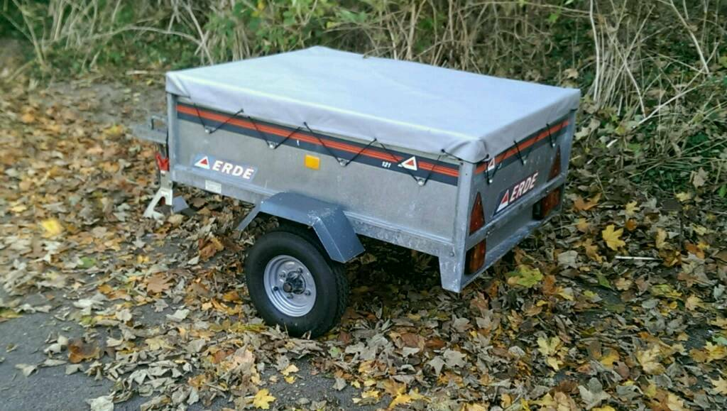 Erde 121 Trailer With Cover In Leighton Buzzard