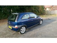 2003 Vauxhall Corsa! low miles! mot! great car with lots of work done!!