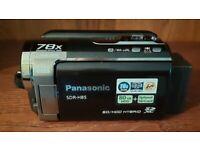 Retro Panasonic Camcorder SDR-H85, 80 GB HDD, Optional SD, 78x Enhanced Optical Zoom