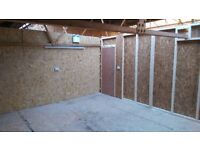 Workshop or Studio or Storage Available on Monthly Rolling Contract, 24 Hour Access.