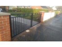 Fences, gates, car trailers, iron works, balustrades, railing, automatic gates and others