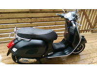 Piaggio Vespa 300 GTS, reg 2013, Excellent condition, still looks like new