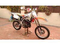 Honda cr80 motocross bike