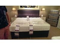 Super king bed base and headboard