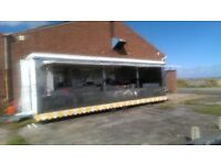 large catering trailer business for sale