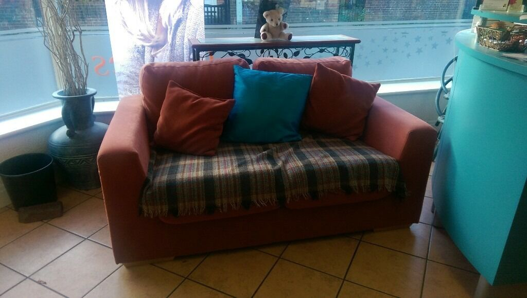 2 two seater sofas , good condition buyer collect , £175.00