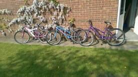 Bike ladies girls