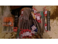 SDS DRILL BITS,,BRAND NEW,,,,,, size 6,7,8 mm