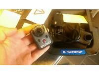 Muvi k2 action cam , like go pro camera